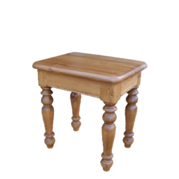 OBW Antique Pine Dressing Stool
