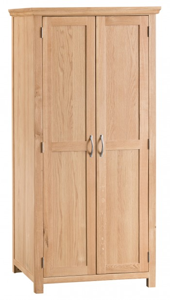 Tyneham Oak Full Hanging Wardrobe