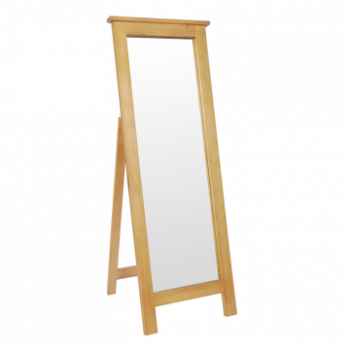 OBW Chunky Pine Cheval Mirror