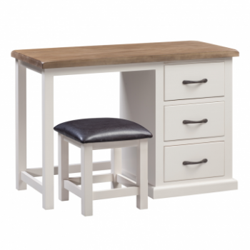 OBW Painted Pine Dressing Table & Stool