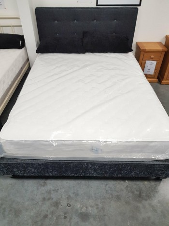 Ex-Display Double Chelsea Fabric Bed Frame
