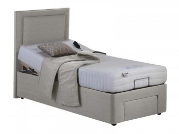 Willow Memory Foam Elite Adjustable Divan Set