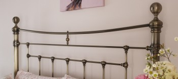 Edmond Metal Headboard