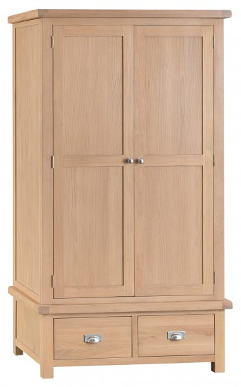 Lulworth 2 Door 2 Drawer Wardrobe