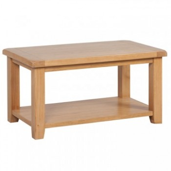 OBW Classic Oak Coffee Table with Shelf