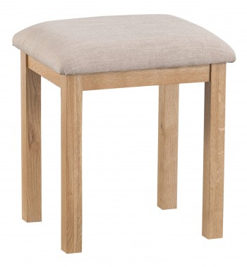 Tyneham Oak Dressing Stool