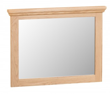Tyneham Oak Small Wall Mirror