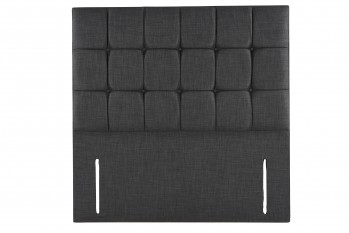 OBW Cube Floor Standing Fabric Headboard