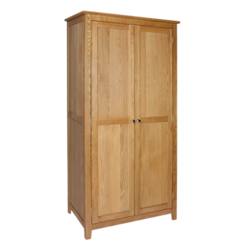 OBW Modern Oak Full Hanging Wardrobe