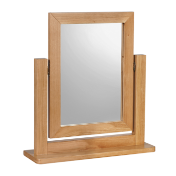 OBW Modern Oak Dressing Mirror
