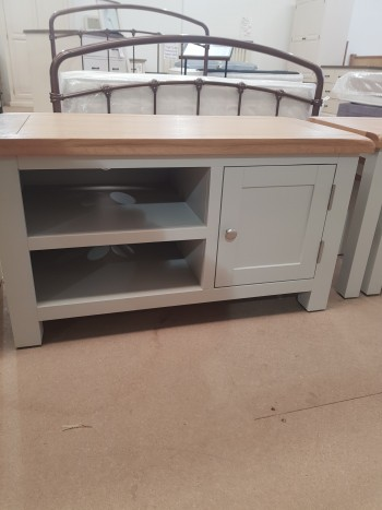 CLEARANCE Grey Painted TV Unit