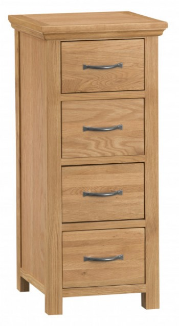 Clearance Bridport 4 Drawer Tall Chest