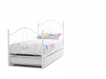 Serene Daisy Metal Guest Bed