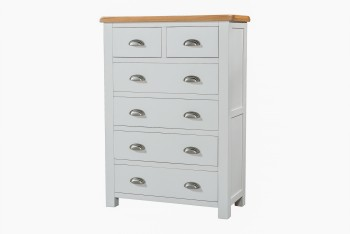 OBW Grey Painted Pine 2 Over 4 Chest