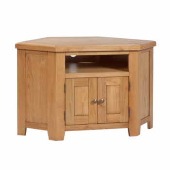 OBW Classic Oak Corner TV Unit