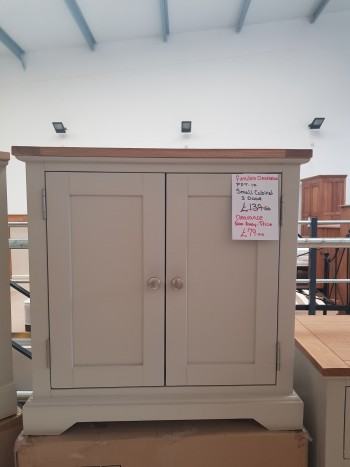 CLEARANCE 2 Door Small Cabinet