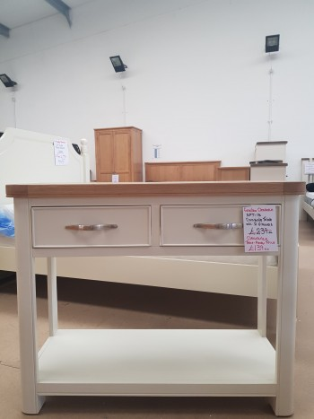 CLEARANCE 2 Drawer Console Table