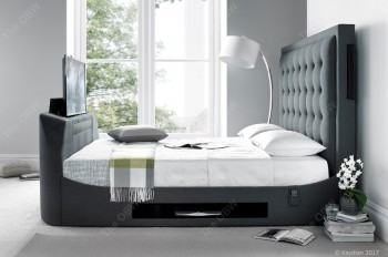 TTN Media Bed inc Headboard Speakers