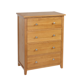 OBW Modern 4 Drawer Chest