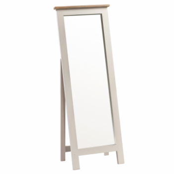 OBW Painted Pine Cheval Mirror