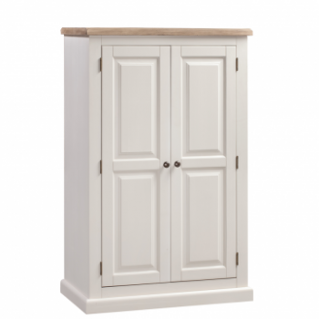 OBW Painted Pine Compact Wardrobe
