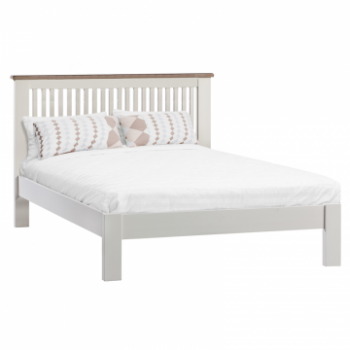 OBW Painted Pine Bed Frame Straight Head End