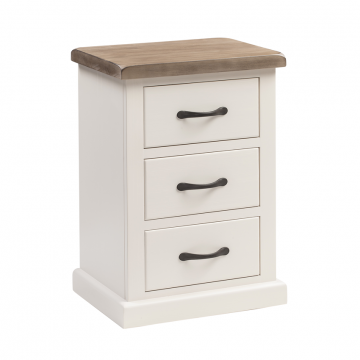 OBW Painted Pine Bedside Table